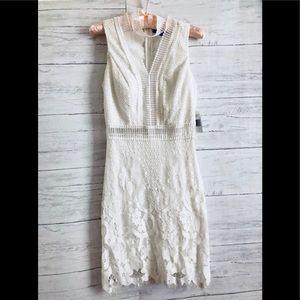 Jodi Kristopher lace ivory dress 1